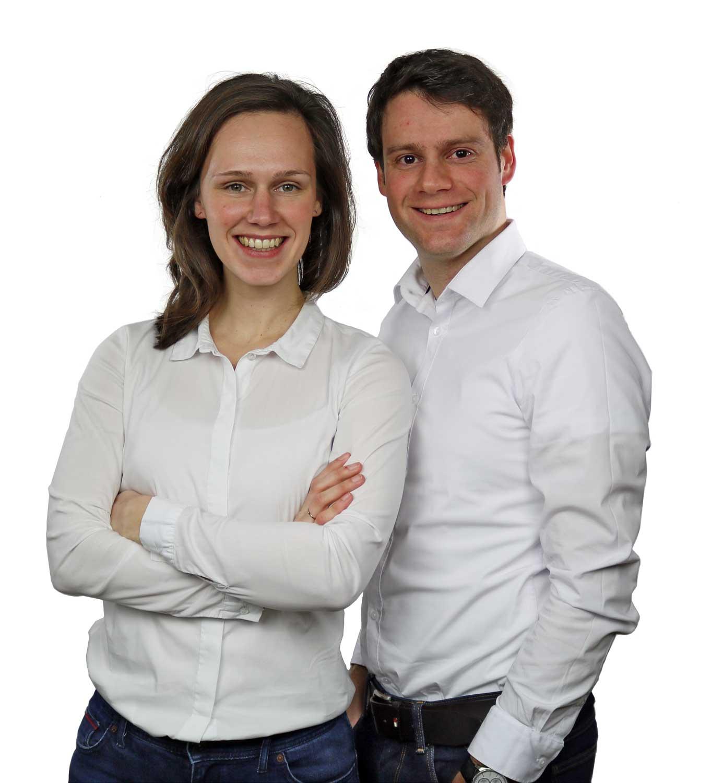 Emma en Maarten - eigenaren van Emma Thee