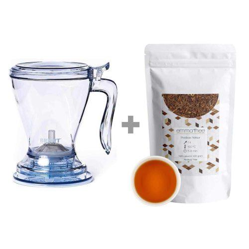 Rooibos Natuur Bundel met Brewt Tea Maker