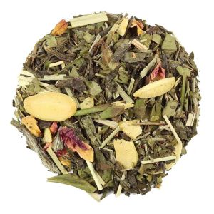 Witte thee Amandel